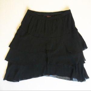 [Torrid] ruffle skirt size 0